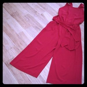 Beautiful red jumpsuit from zara size small